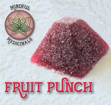 mindful medicinals fruit punch gummies