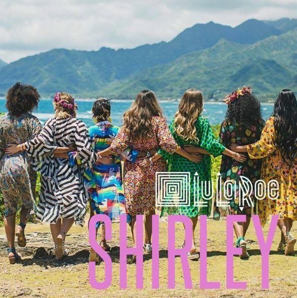 Sarasota Yoga Collective Annie Holiday LuLaRoe Shirley Kimono